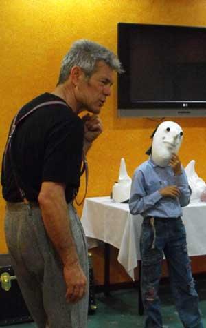 Jacob Mills workshop for child actors - school residencies