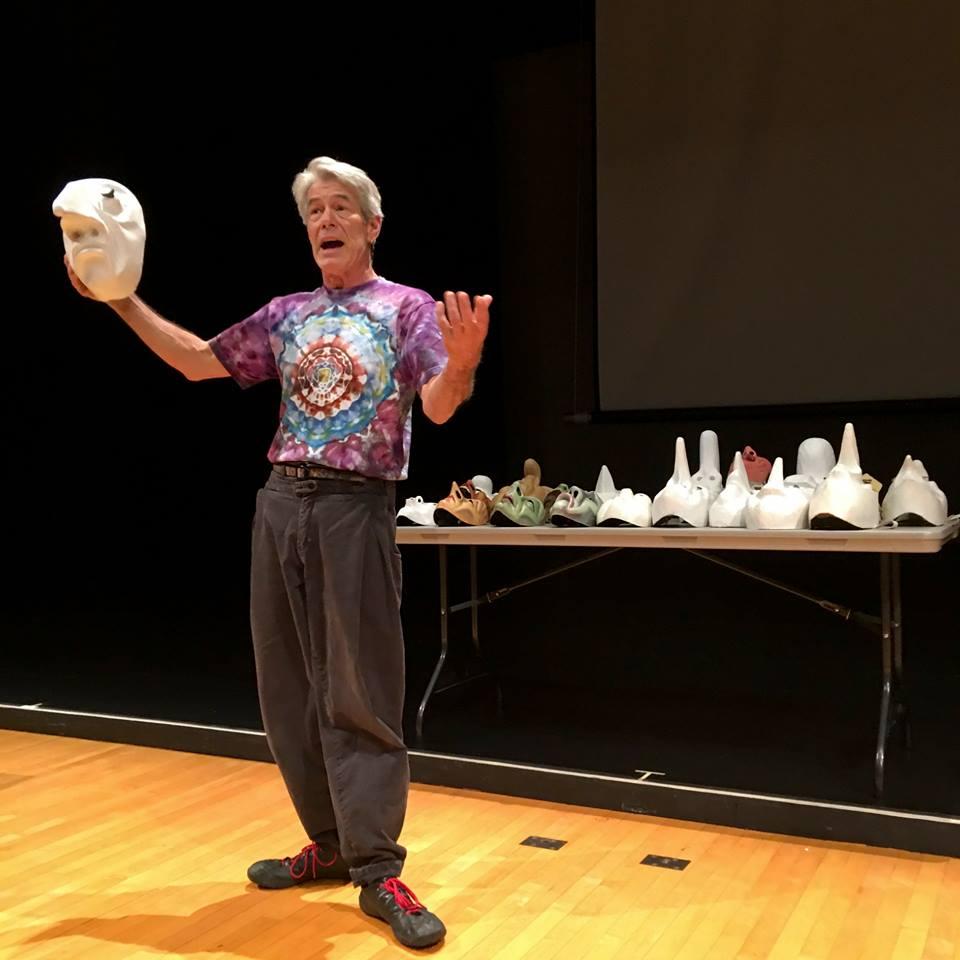 speaking about masks - Jacob Mills